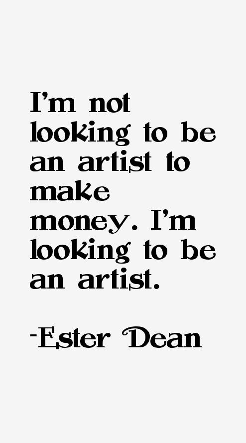 Ester Dean Quotes