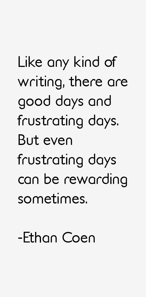 Ethan Coen Quotes