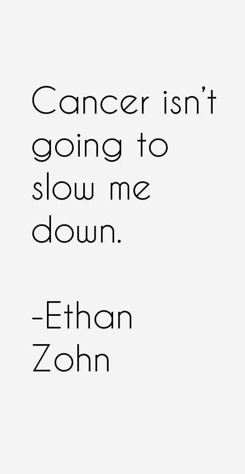 Ethan Zohn Quotes