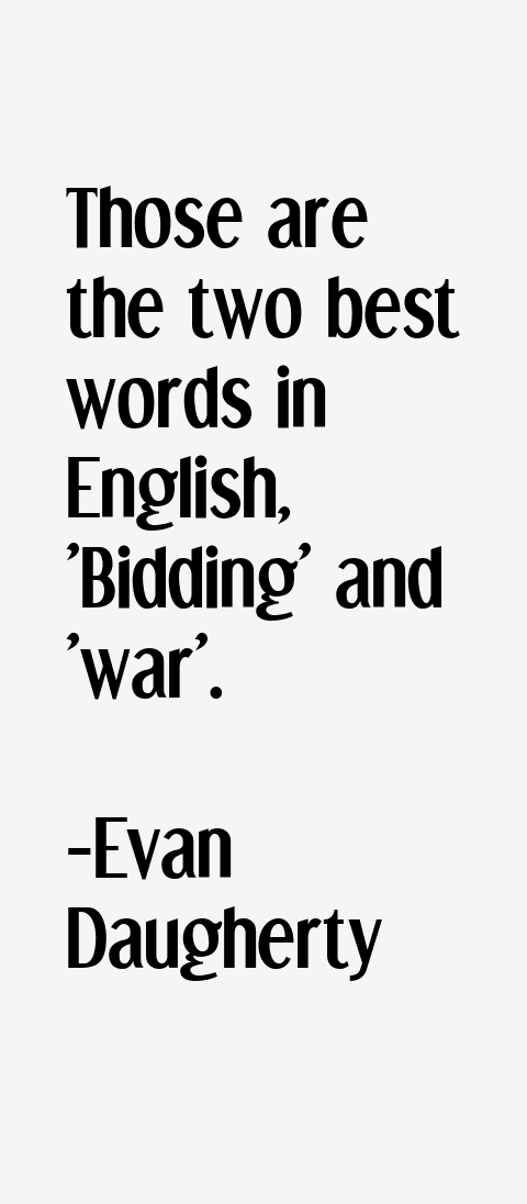 Evan Daugherty Quotes