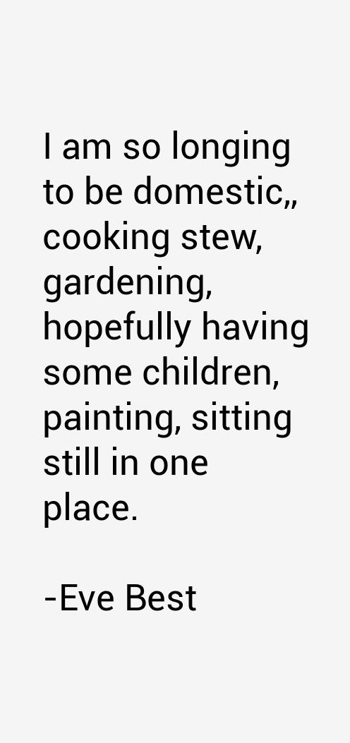 Eve Best Quotes