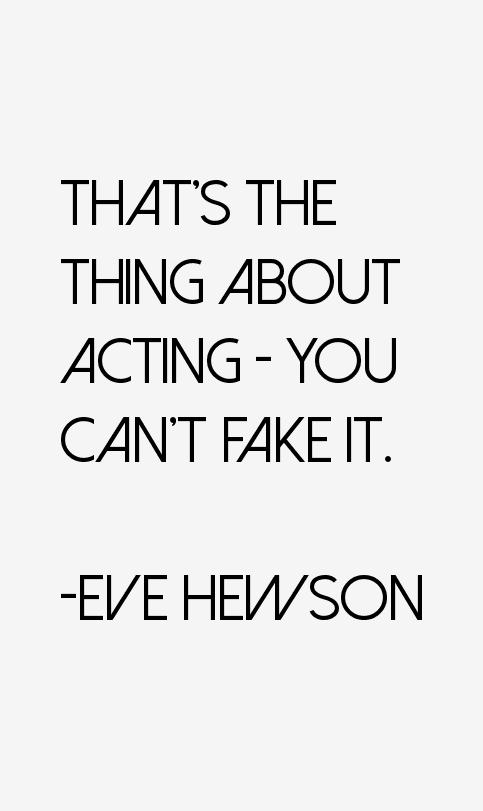 Eve Hewson Quotes