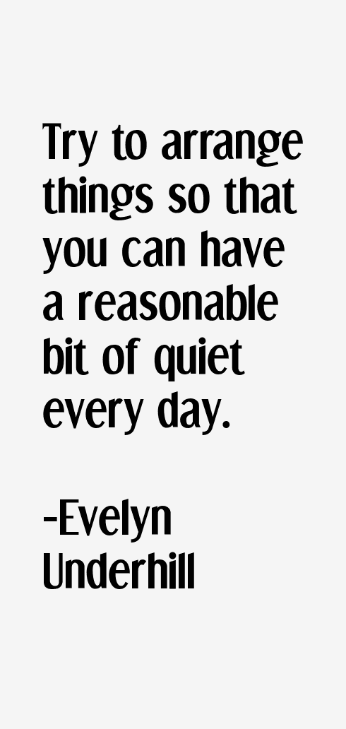 Evelyn Underhill Quotes