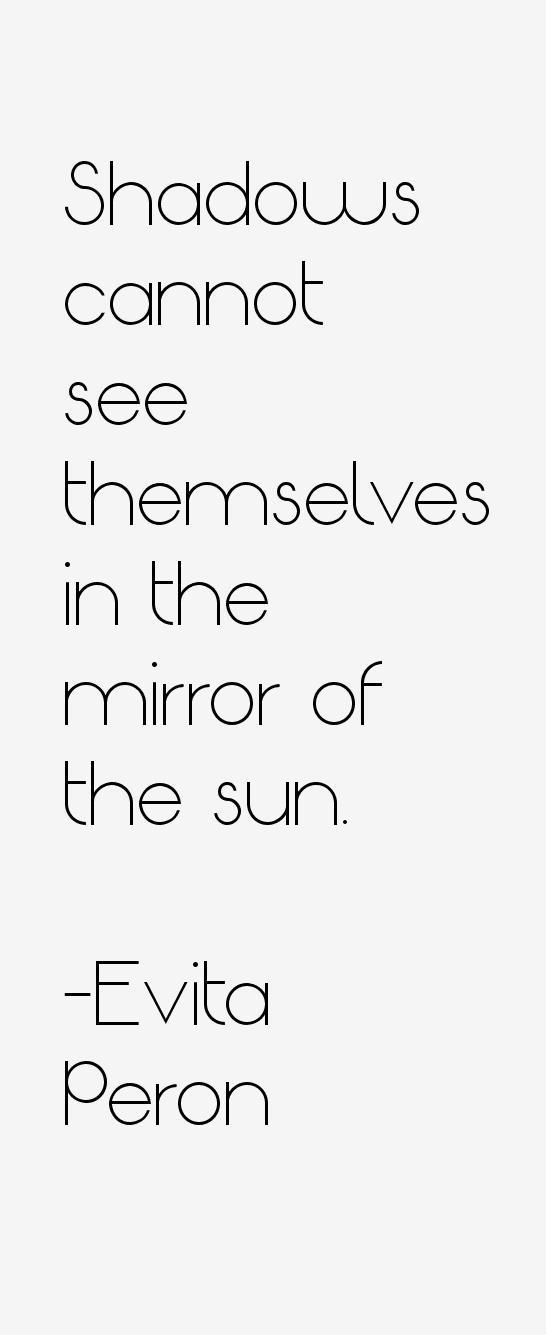 Evita Peron Quotes