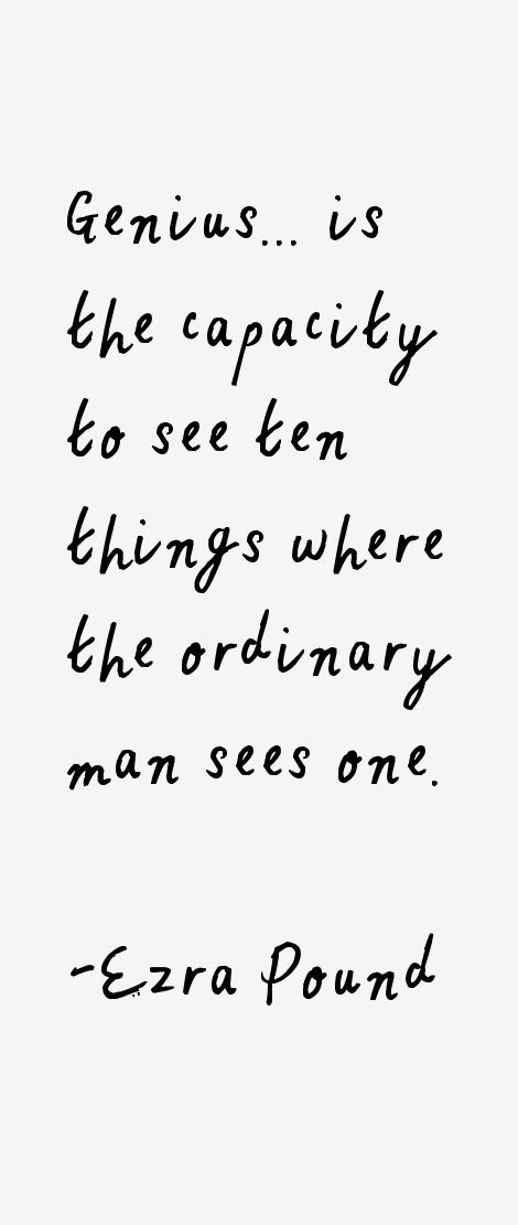 Ezra Pound Quotes