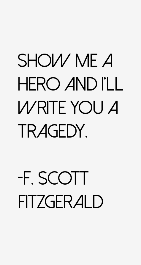 the life of romanticism and tragedy of fscott fitzgerald Scott, argues brown, was a romantic novelists who hated modern society and the   this is an in depth depiction of f scott fitzgerald tragic and yet brilliant life.