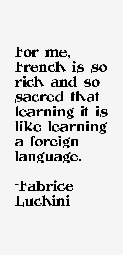 Fabrice Luchini Quotes