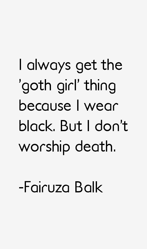 Fairuza Balk Quotes