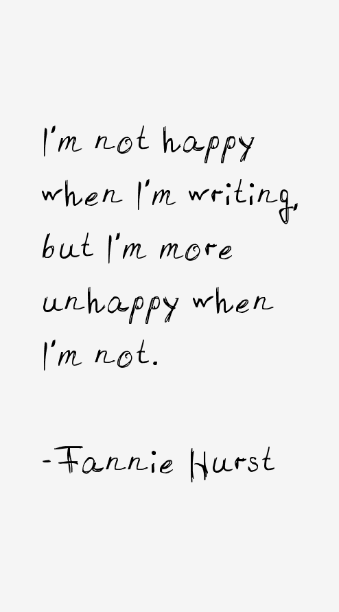 Fannie Hurst Quotes