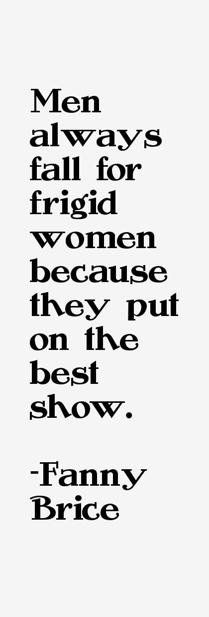 Fanny Brice Quotes