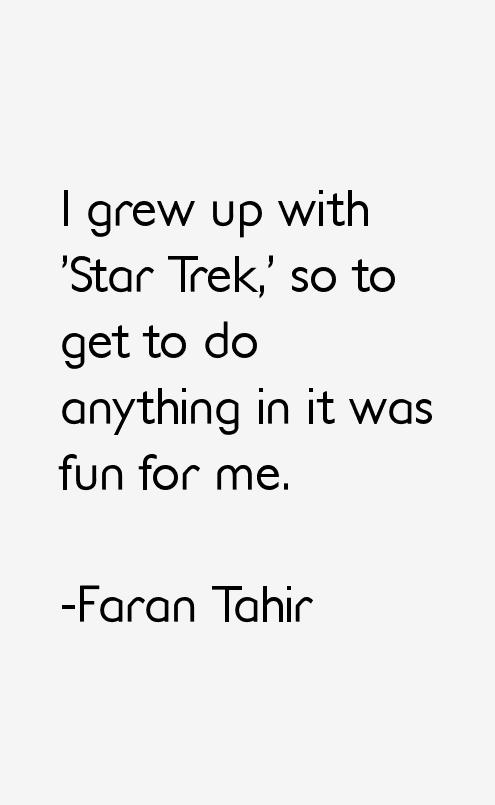 Faran Tahir Quotes