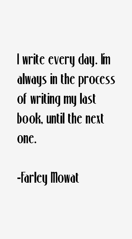 Farley Mowat Quotes