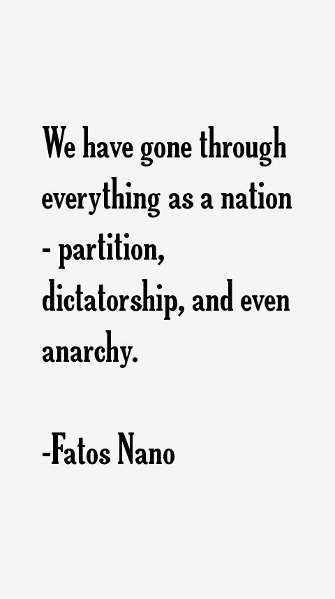 Fatos Nano Quotes