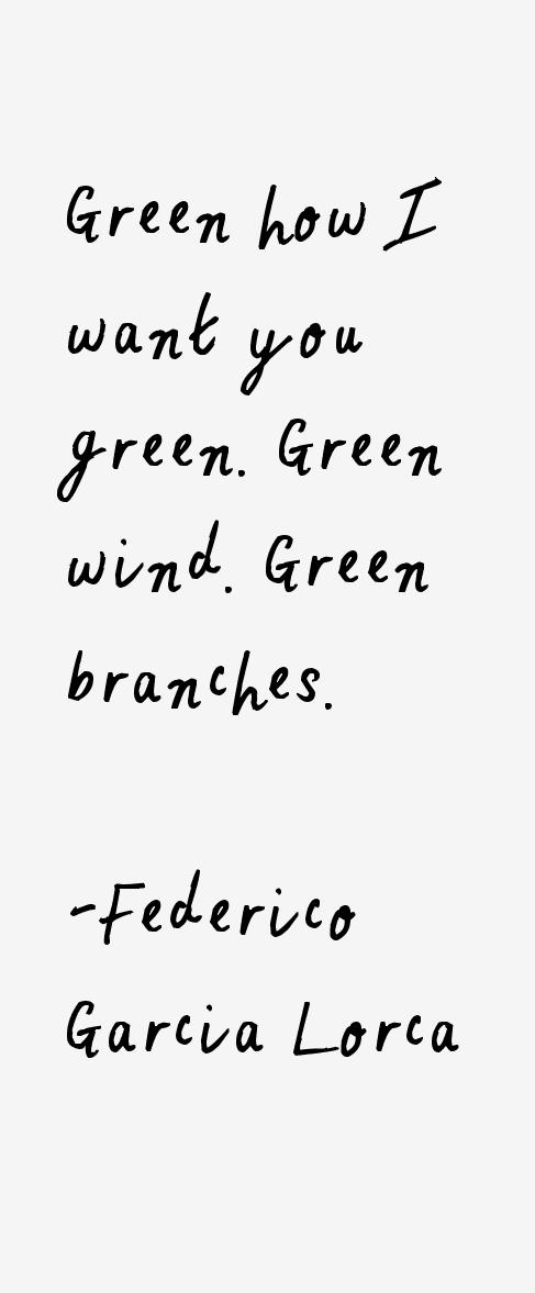 Federico Garcia Lorca Quotes