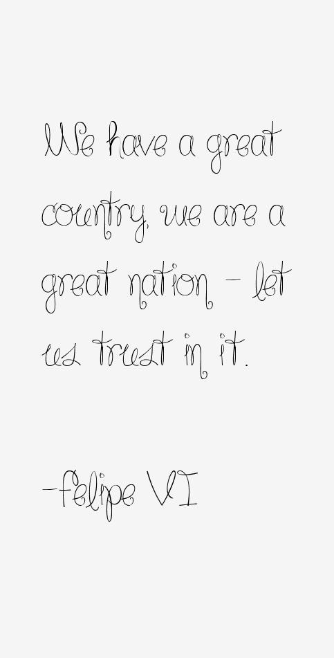 Felipe VI Quotes