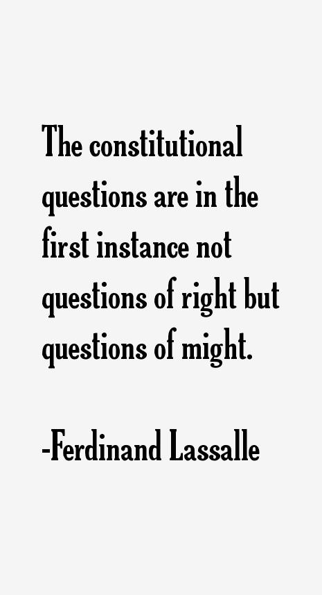 Ferdinand Lassalle Quotes