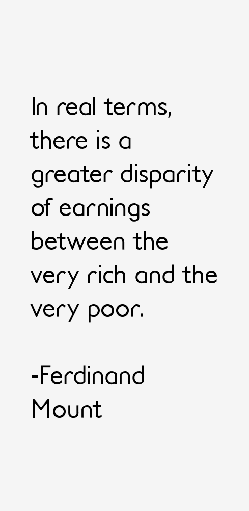 Ferdinand Mount Quotes