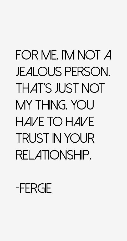 Fergie Quotes