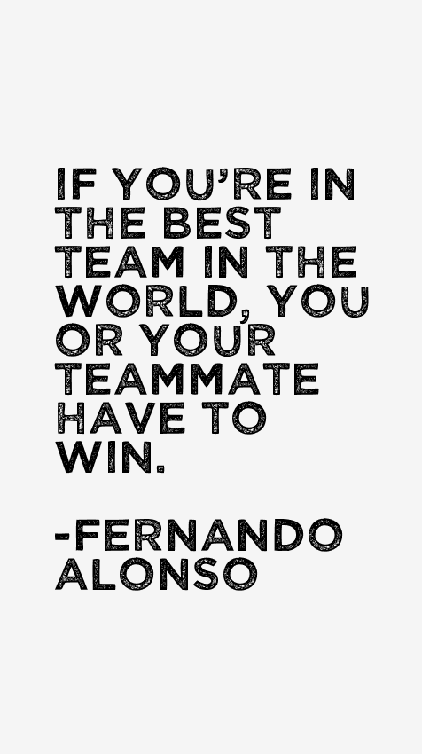 Fernando Alonso Quotes