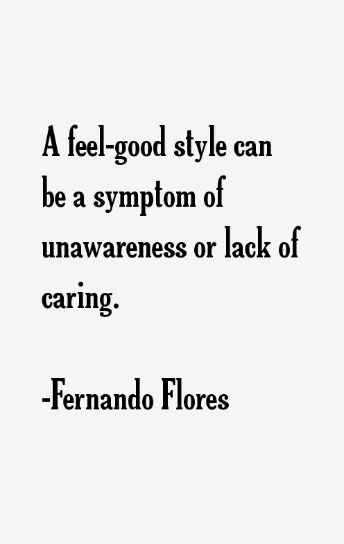 Fernando Flores Quotes