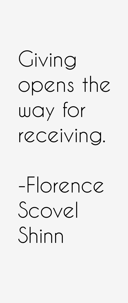 Florence Scovel Shinn Quotes