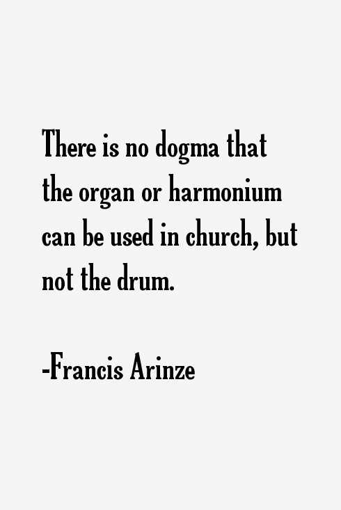 Francis Arinze Quotes
