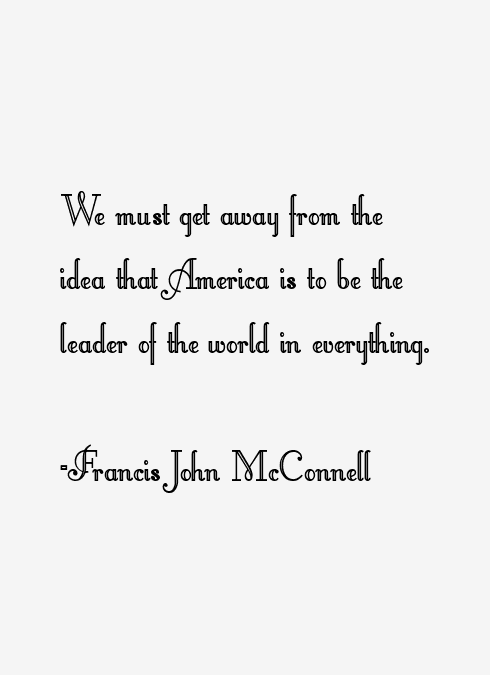 Francis John McConnell Quotes