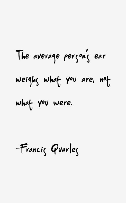 Francis Quarles Quotes