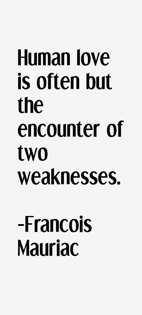 Francois Mauriac Quotes