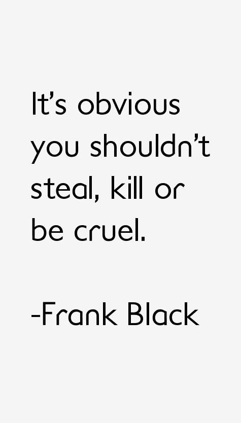 Frank Black Quotes