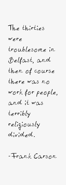 Frank Carson Quotes
