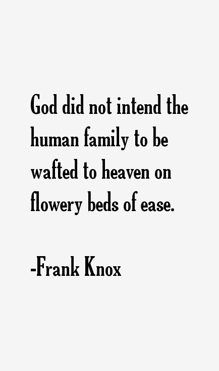 Frank Knox Quotes