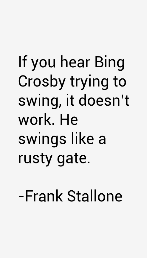 Frank Stallone Quotes