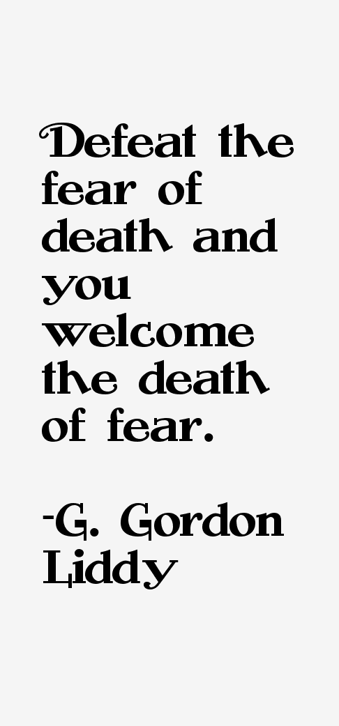 G. Gordon Liddy Quotes