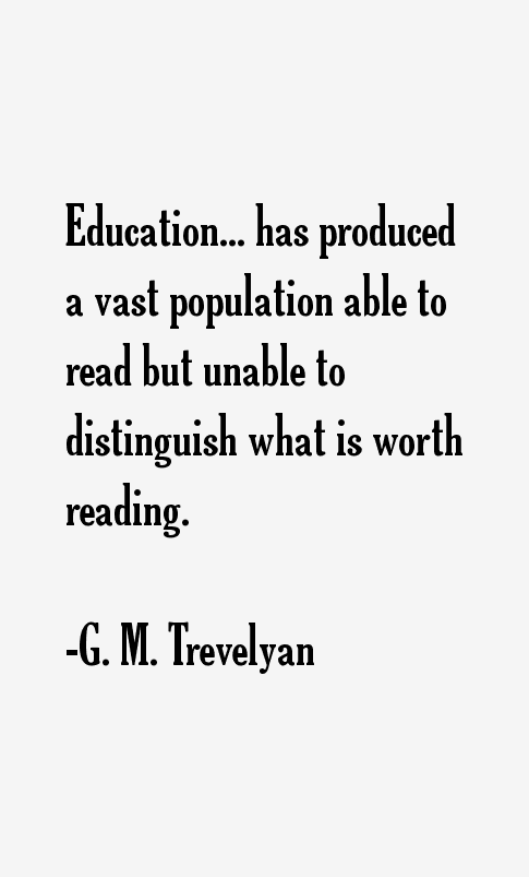 G. M. Trevelyan Quotes