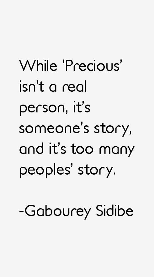 Gabourey Sidibe Quotes