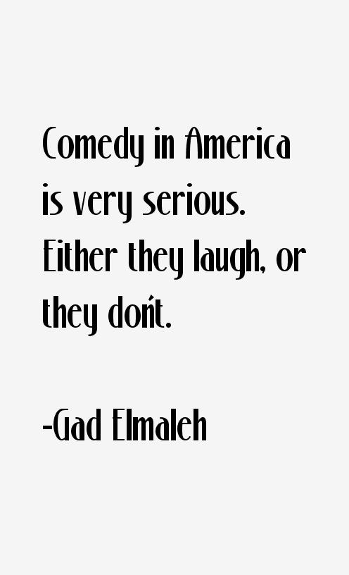 Gad Elmaleh Quotes