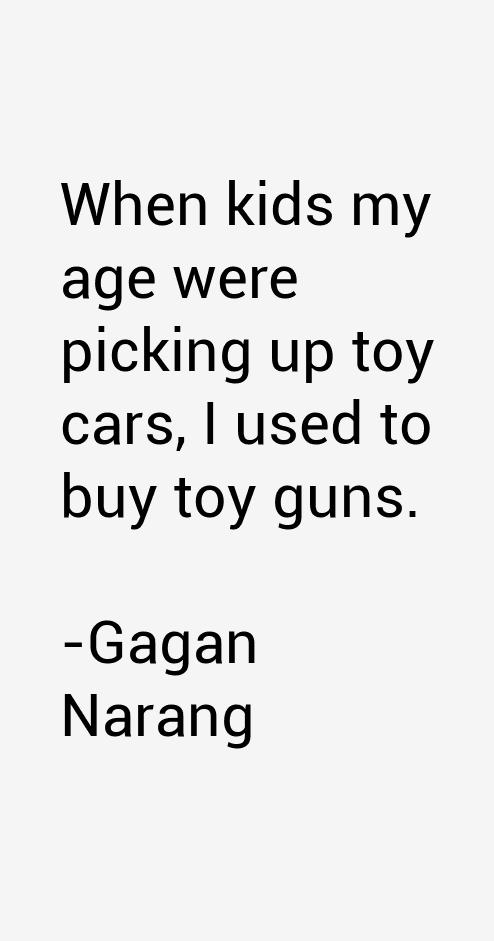 Gagan Narang Quotes