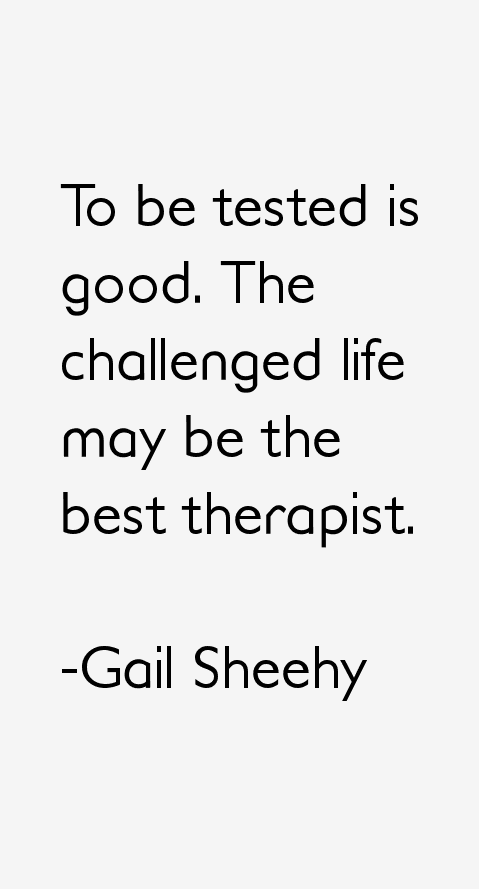 Gail Sheehy Quotes