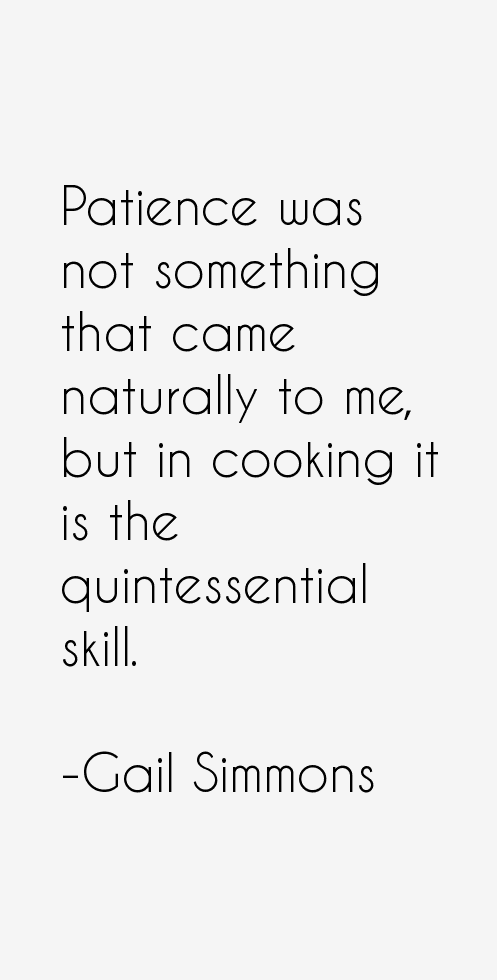 Gail Simmons Quotes