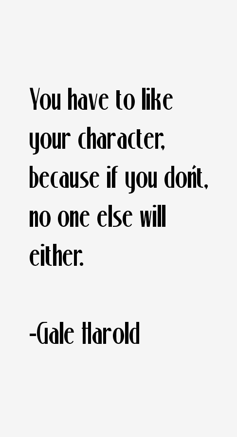 Gale Harold Quotes