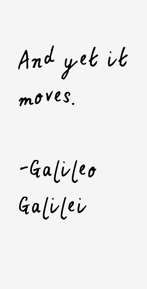 Galileo Galilei Quotes