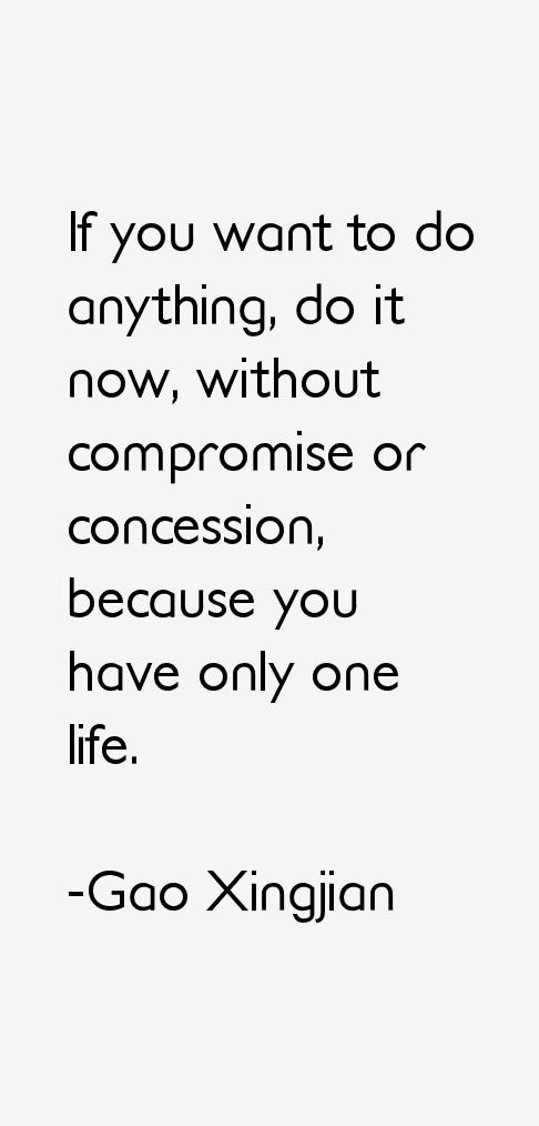 Gao Xingjian Quotes