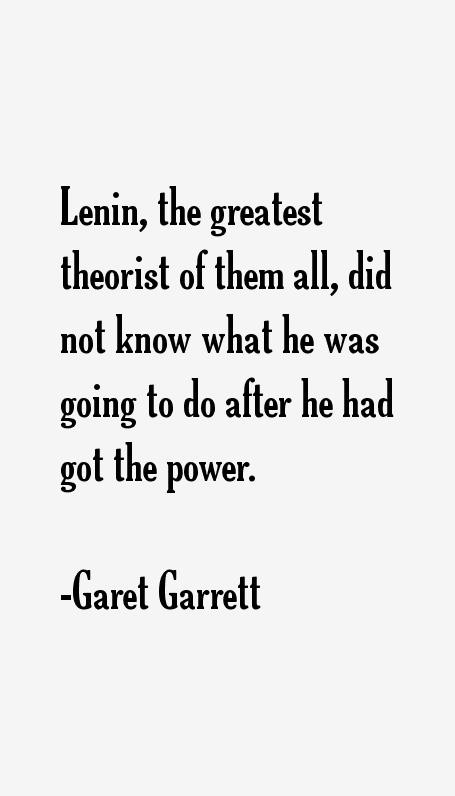 Garet Garrett Quotes