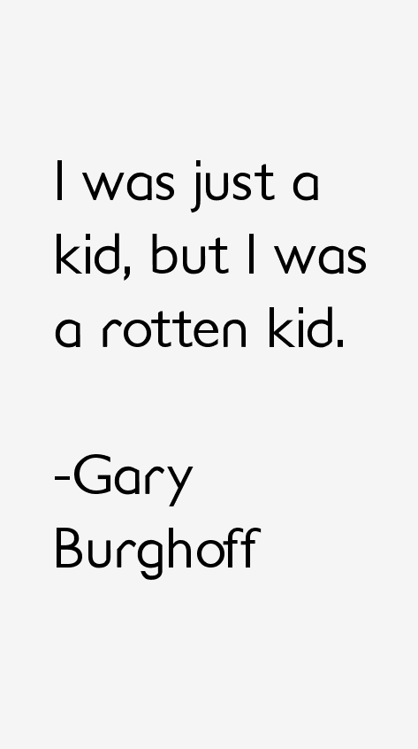 Gary Burghoff Quotes