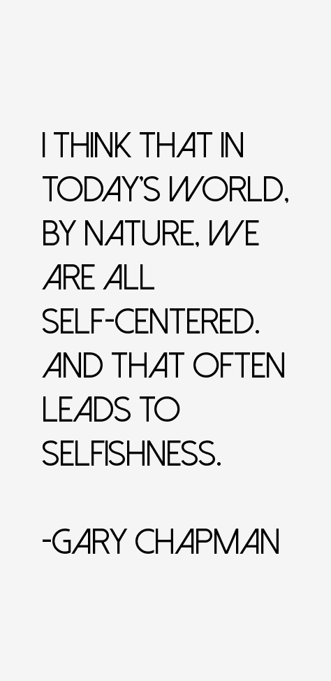 Gary Chapman Quotes