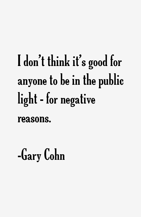 Gary Cohn Quotes