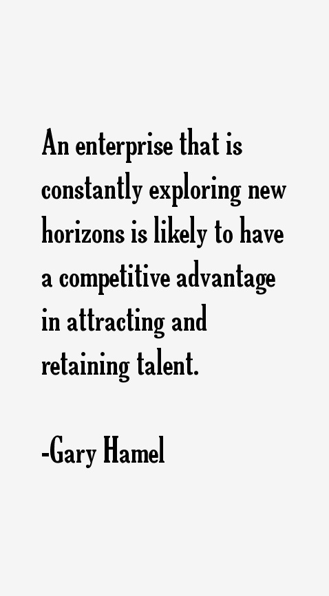 Gary Hamel Quotes