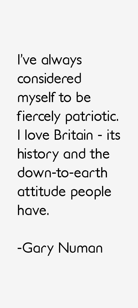 Gary Numan Quotes