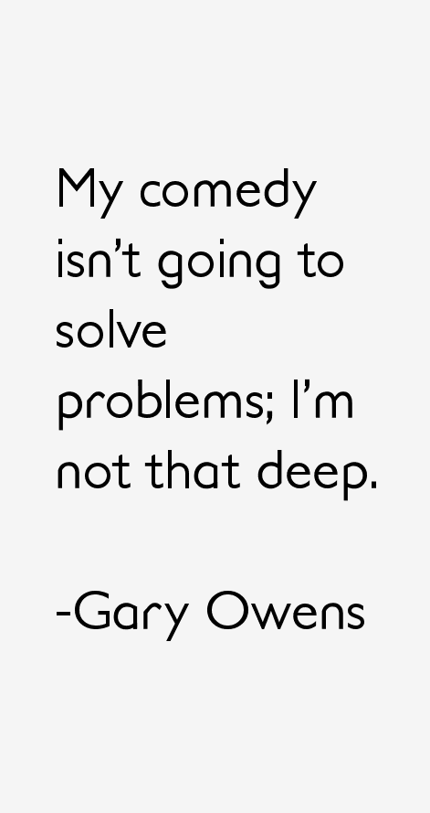 Gary Owens Quotes